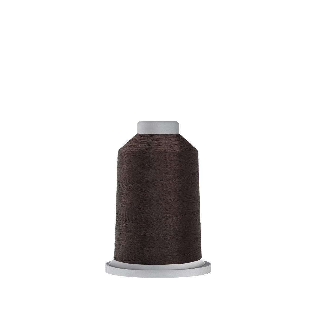 Glide Trilobal Polyester No. 40 Thread - Dark Brown